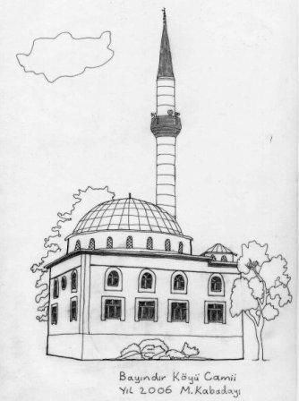 Mehmet Kabadayı Camii Tasviri
